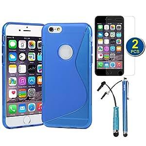 "Evecase 885157800457 5.5"" Funda Azul funda para teléfono móvil - Fundas para teléfonos móviles (Funda, Apple, iPhone 6 Plus, 14 cm (5.5""), Azul)"