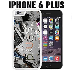 iPhone Case Drugs Made Me Do It for iPhone 6 PLUS Rubber White (Ships from CA)