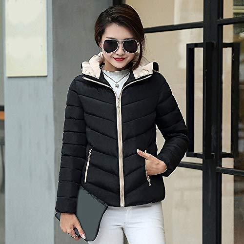 Womens Coats Winter Clearance Liraly Fashion Winter Warm Coat Thick Warm Slim Jacket Overcoat(Black,US-10 /CN-XL) by Liraly (Image #3)