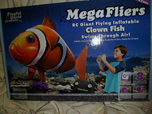 RC Giant Flying Inflatable Clown Fish By Playful World 2011 Made in China (Inflatable Clown)