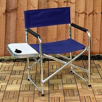 Nuevos Directores silla aluminio - Mesa de camping picnic al aire libre jardín foldables casa: Amazon.es: Deportes y aire libre