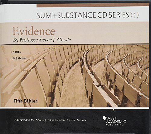 Sum and Substance Audio on Evidence by West Academic Publishing
