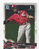 Shed Long 1st Bowman Card Bowman Chrome Prospects Collectible Baseball Card #BCP78 (TCincinnati Reds) Free Shipping