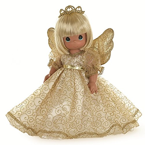 [Precious Moments Angelic Whispers from Heaven Blonde Doll, 16