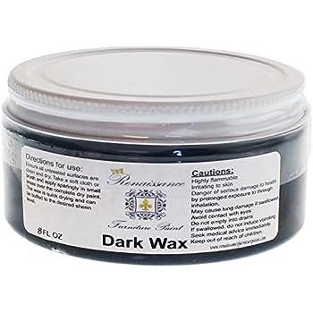 Renaissance Chalk Finish Wax Jar - Dark Wax (8oz)