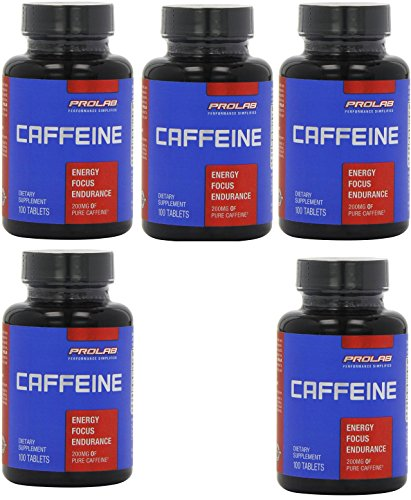 ProLab Caffeine Maximum Potency 200mg Tablets 500-Count