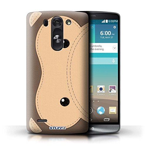 Kobalt® Imprimé Etui / Coque pour LG G3 S (Mini)/D722 / Singe conception / Série Cousu des Animaux Effet