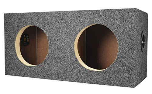 Rockville RD65 Dual Sealed 6.5″ MDF Subwoofer Box Enclosure 0.60 cu ft. Per Sub
