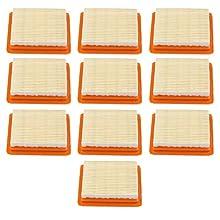 Haishine 10Pcs/lot Air Filter Cleaner Kit for STIHL FS120 FS200 FS250 FS300 FS350 FS400 FS450#41311410300 String Trimmer Brush Cutter