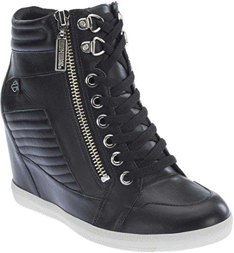 Harley-Davidson Women's Halyard Black Sneaker 7.5 B (M)