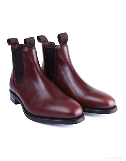 Loake Ladies Chatterley Brown Waxy Chelsea Boot  Amazon.co.uk  Shoes ... aaeb93247e