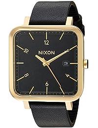 Nixon Men's A939513 Ragnar Analog Display Japanese Quartz Black Watch