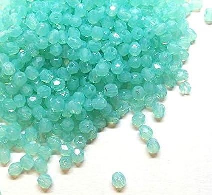 100 St/ück Kristall Glas Perlen Preciosa B/öhmische Glasschliffperlen 3mm Feuerpoliert Facettiert Rund CZ Tschechische Glasperlen Druckperlen Farbauswahl Amethyst