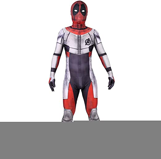 ERTSDFXA Guerra Cuántica Deadpool Disfraces Nino Adulto Disfraz De ...