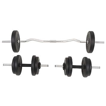 Xingshuoonline - Juego de Mancuernas y Mancuernas (30 kg, Gimnasio, Fitness, Deportes