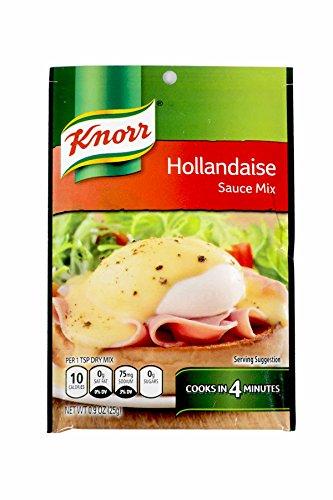 Classic Hollandaise Sauce - 0.9 ounce - 12 per case.