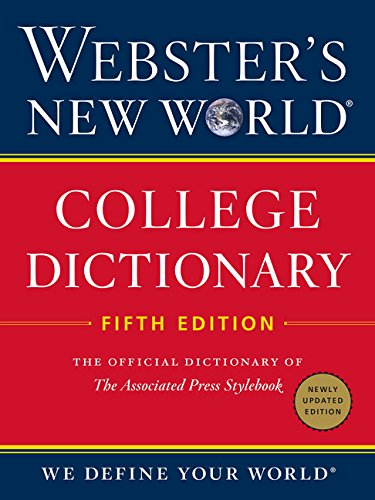 Websters New World College Dictionary  Fifth Edition