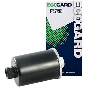 ecogard xf33144 engine fuel filter - premium replacement fits chevrolet  silverado 1500, c1500, k1500, tahoe, astro, s10, avalanche 1500, silverado  2500,