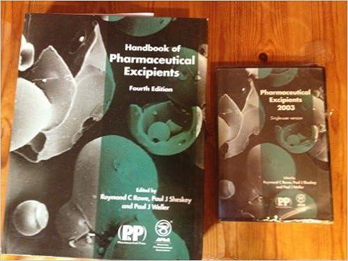 Handbook Of Excipients Pdf