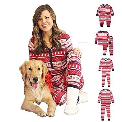 Juego De Pijamas De Algodon Para Toda La Familia Pjs Para Toda La