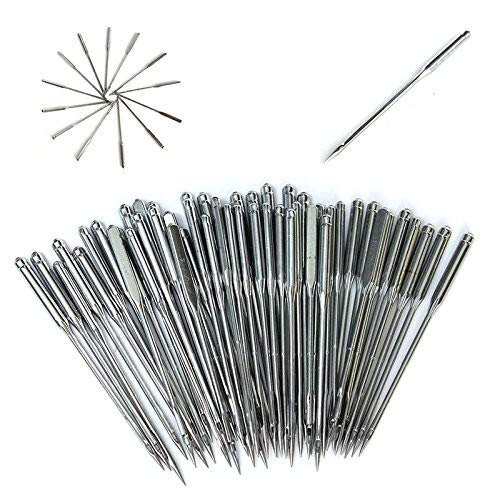 100pcs Assorted Home Sewing Machine Needles 11/75, 12/80, 14/90, 16/100, 18/110 EAGLESTIME