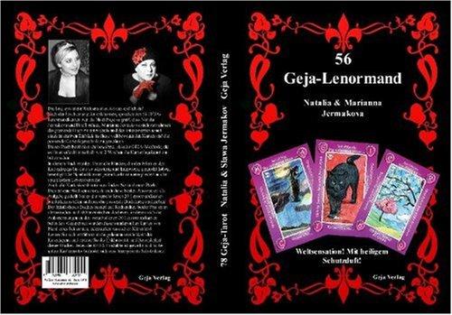 Set - 56 Geja Lenormandkarten, Buch + Kartendeck Klein
