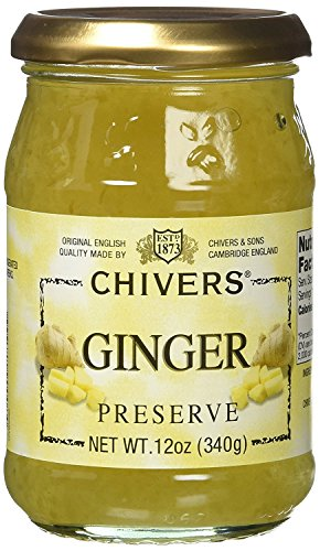 Chivers English Ginger Marmalade Jar 340g – Pack of 2