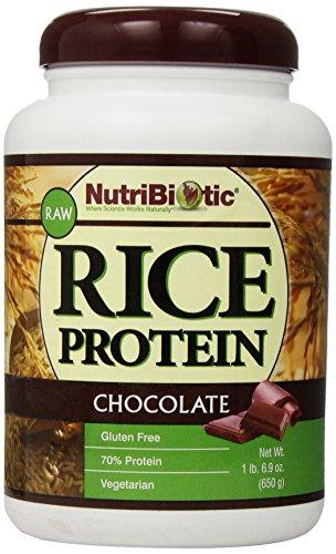 Nutribiotic Rice Protein Chocolate 6 9