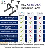 XL Parallette Bars, Versatile Push Up & Dip Bars