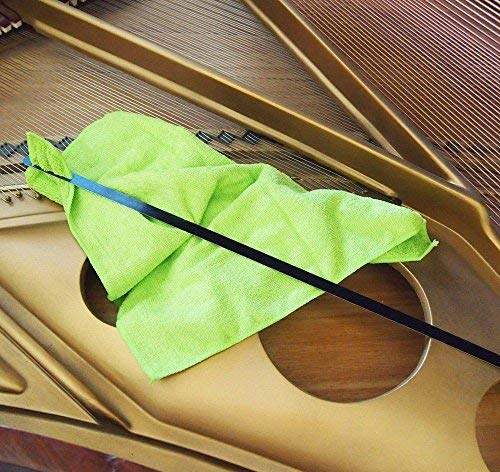 Grand Piano Soundboard Cleaning Tool With Microfiber Dusting Cloth by Schaff Piano Supply