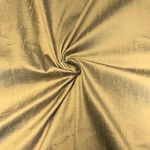 "100% Pure Silk Dupioni Fabric 54"" Wide BTY Drape Blouse D..."