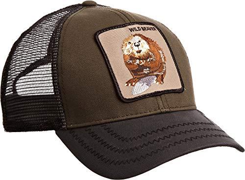 10cbbb85cc6a28 Goorin Bros. Men's Animal Farm Snap Back Trucker Hat, Dark - Import ...