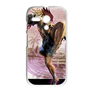 Motorola Moto G Phone Case White Street Fighter Adon WE1TY724550