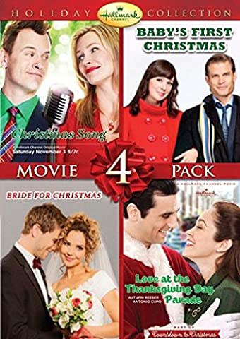 Hallmark Holiday Collection 4 (Christmas Song/Baby's First Christmas/Bride for Christmas/Thanksgiving Day (The Thanksgiving Day Parade)