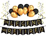 """The Legend Has Retired"" Retirement Decoration Pack - Retirement Party Supplies, Gifts and Decorations by Sterling James Company"