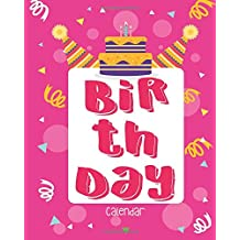 Birthday Calendar: Perpetual Calendar |Record All Your Important Dates |Date Keeper |Christmas Card List |For Birthdays Anniversaries & Celebrations