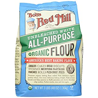 Unbleached White Flour by Bob's Red Mill, 48 oz