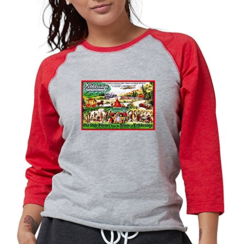 Old Style Pilsner - CafePress Canada Beer Label 15 Long Sleeve T-Shirt - Womens Baseball Tee