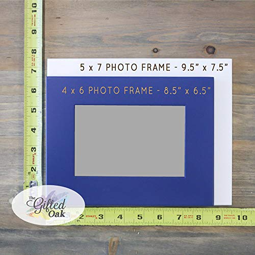 602db82cb646 Amazon.com  Personalized Birth Announcement Frame with Birth Stats -  Picture for Newborn Baby - Gift for New Parents - Nursery Picture Frame -  Custom ...