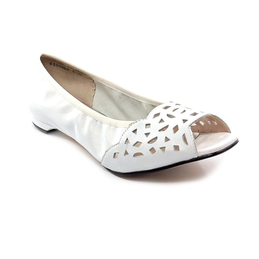 Women's ROS Hommerson, Mercy Slip on Flat B00AX9WL8W 7.5 M US|White