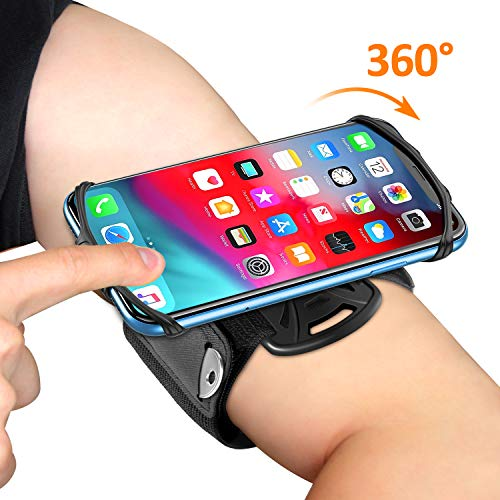 Matone Phone Armband, 360° Rotatable Running Phone Holder, Compatible with...