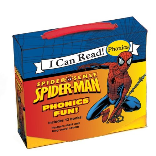 Spider-Man: Spider-Man Phonics Fun (I Can Read! Phoniccs) by Festival