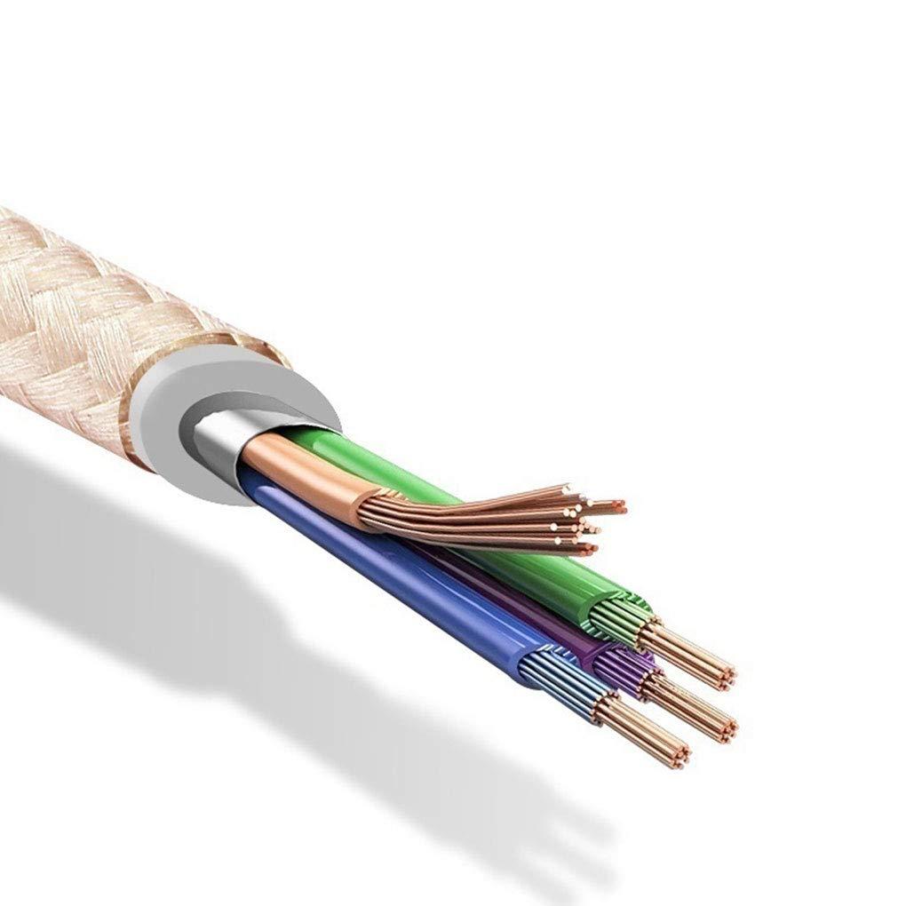 Laileya 1 Meter Nylon Woven Datenkabel Ersatz f/ür f/ür Android Android Handy-Datenleitungskabel Ersatz Wire Cable