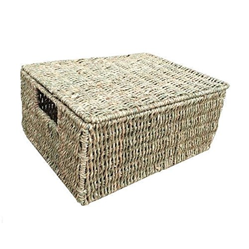 Large Seagrass Storage Basket by Red Hamper