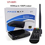V7 Decoder Satellite TV Receiver DVB-S2 HD + Review and Comparison