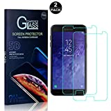 Galaxy J7 DUO Screen Protector, Bear Village® Tempered Glass Screen Protector [Lifetime Warranty], HD Screen Protector Glass for Samsung Galaxy J7 DUO - 2 PACK