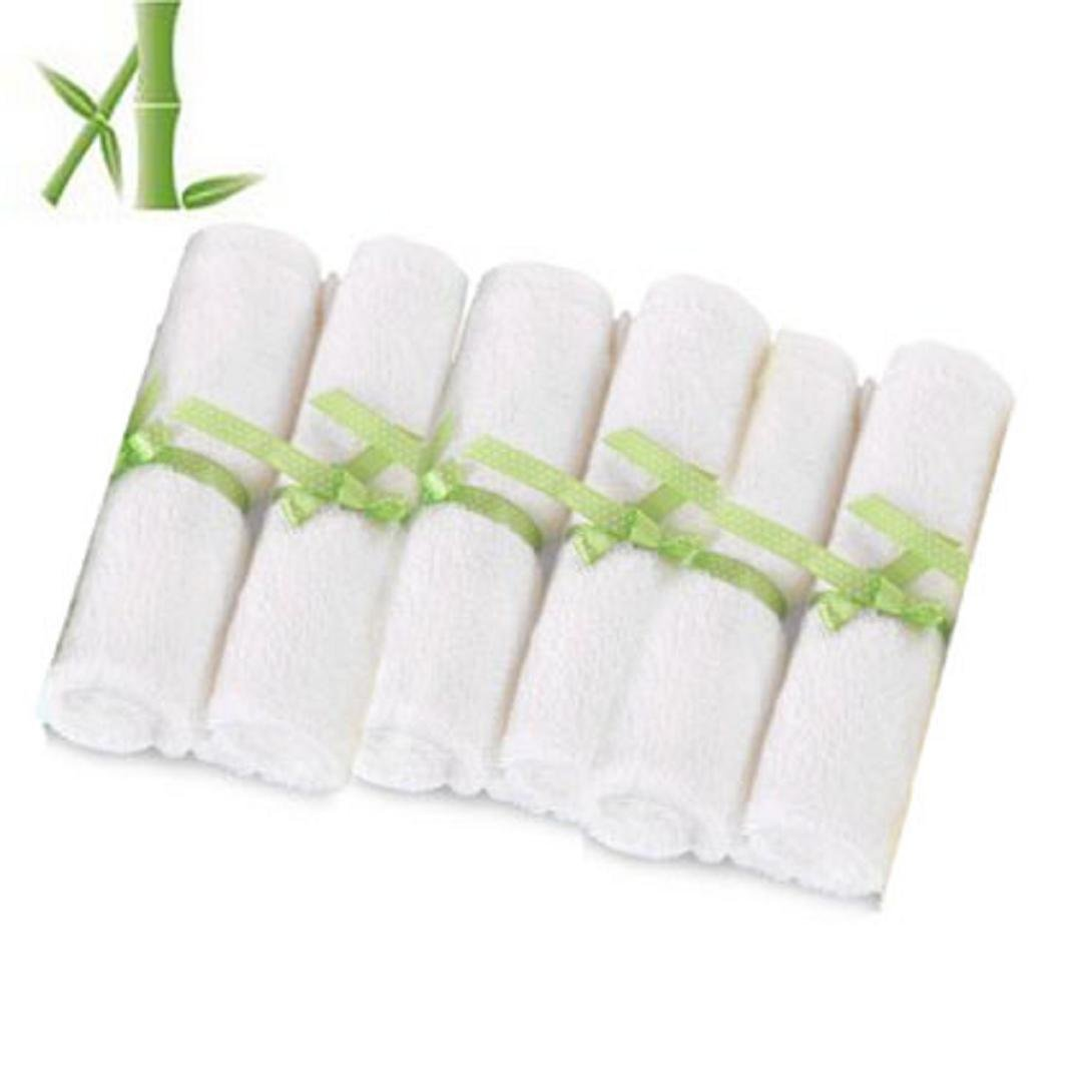 MerryDay Bamboo Baby Washcloths/Wipes Premium Extra Soft & Absorbent Towels For Baby's Sensitive Skin by Merry Day   B01981NEIG