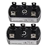 BQLZR Bridge Rectifier 3 Phase Diode 50 Amp 1200V SQL50A Aluminum Pack of 2