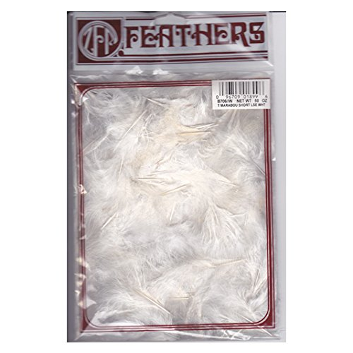 Products Turkey (Zucker Feather Products Loose Turkey Marabou Dyed Feathers, 1-4
