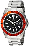Orient Men's 'Mako XL' Japanese Automatic Stainless Steel Diving Watch, Color:Silver-Toned (Model: FEM75004B9)
